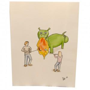 akvarell_I_see_fire