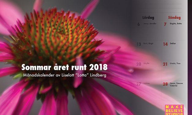 Kalender för 2018 på tryck!