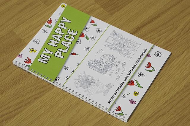 Tävling! Vinn vår nya målarbok och pennor!